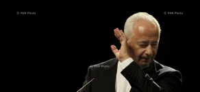 1st concert of Vladimir Spivakov and National Philharmonic Orchestra of Russia, dedicated to Armenian Genocide Centennial