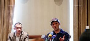Press conference dedicated to the concert Arto Tunçboyaciyan and