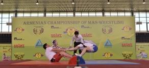 Armenian Championship of Mas-wrestling