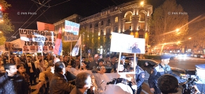 Rally and march of Constituent Parliament in downtown Yerevan