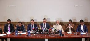 Press conference on the events commemorating the Armenian Genocide centenary