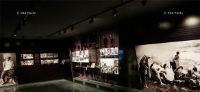 Press tour around Armenian Genocide Museum-Institute