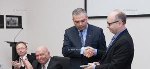 Shoah foundation provides AGMI with digitized testimonies of Armenian Genocide survivors