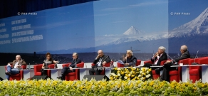 """Opening ceremony of the global forum """"Against the crime of Genocide"""""""