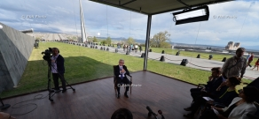 President Serzh Sargsyan's interview with Reuters, Al Jazeera, CNN Turk, BBC and Russia Today