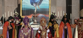 Canonization of the Armenian Genocide victims at the Mother See of Holy Etchmiadzin
