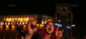 SOAD's Wake up the Souls concert in Yerevan