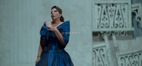 Opera singer Maria Guleghina and Armenian Philharmonic Orchestra perform concert as part of Yerevan Perspectives festival