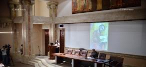 "Opening of ""Survived Culture"" symposium at Matenadaran"