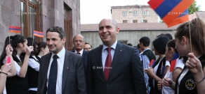 Opening of new building of high school No 119 after Beniamin Zhamkochyan