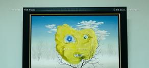Открытии выставки работ живописца Левона Тутунджяна
