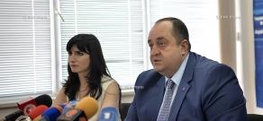 Пресс-конференция Министра юстиции Армении Ованеса Манукяна