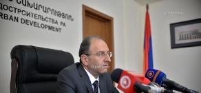 Пресс-конференция Министра градостроительства РА Нарека Саргсяна