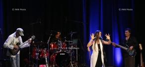 Концерт рок-группы «Догма» в Ереване