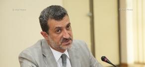 Пресс-конференция заместителя мэра Еревана Арама Сукиасяна