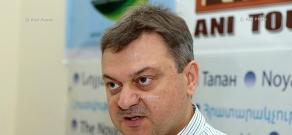 "Press conference of editor-in-chief of ""Azdak"" daily Shahan Gantaharyan"