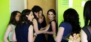 School graduation celebration at Ayb High School