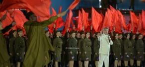 Moscow hosts Victory Day concert on 70th anniversary of the Great Patriotic War