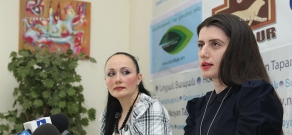 Press conference of endocrinologist, nutritionist Hasmik Abovyan and psychologist Naira Vanyan