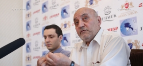 Press conference of Ruben Aghuzumcyan, Head of the Chair of Psychology of Governance at State Public Administration Academy of RA