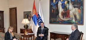 Armenian Minister of Foreign Affairs Edward Nalbandyan receives OSCE Chairperson, First Deputy Prime Minister and Minister of Foreign Affairs of Serbia Ivica Dačić
