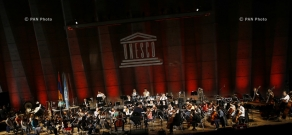 Paris hosts concert entitled  'Youth for Peace', dedicated to the 70th anniversary of UNESCO