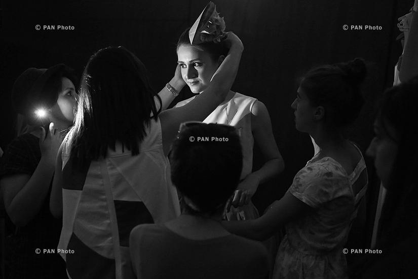 Oriflame Fashion Night 2015: Закулисье