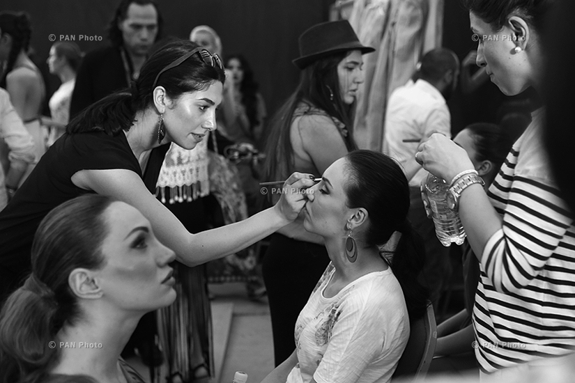 Oriflame Fashion Night 2015: Backstage