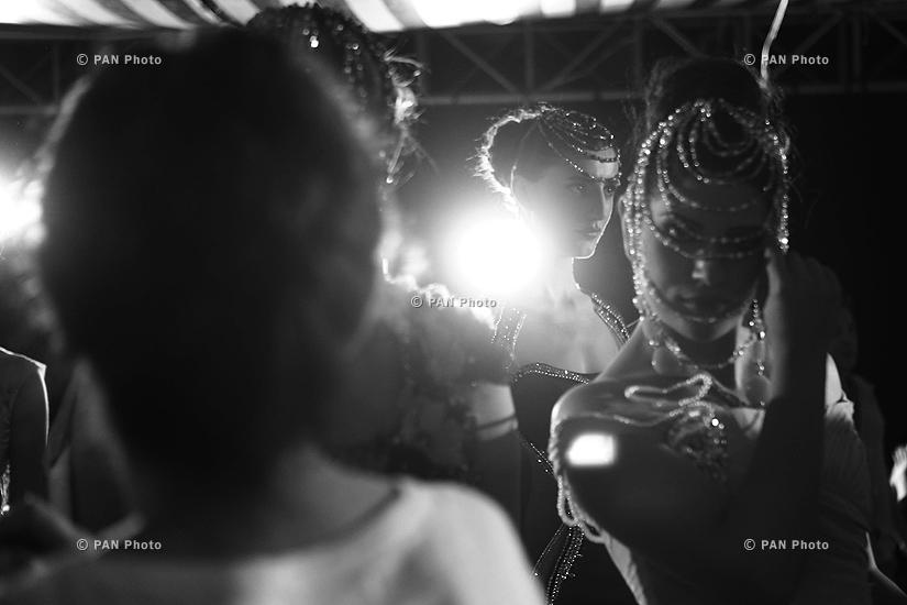 Oriflame Fashion Night 2015: Backstage