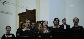 Midem 2015: Concert of Hover Chamber Choir in largest Protestant church in Cannes