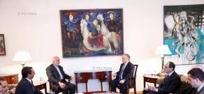 RA Minister of Foreign Affairs Edward Nalbandyan receives Deputy Minister of Foreign Affairs of Iran Ibrahim Rahimpur