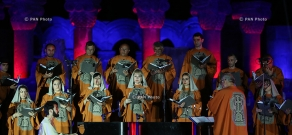 Luys i Luso Project: Concert of Tigran Hamasyan and Yerevan State Chamber Choir at Zvartnots Cathedral