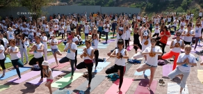 International Yoga Day in Yerevan