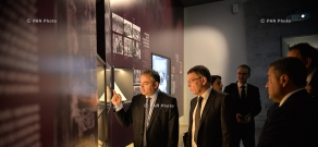 Minister of Foreign Affairs of the Czech Republic Lubomír Zaorálek visits Armenian Genocide memorial and museum