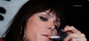 Press conference of American singer Beth Hart