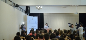 "Opening ceremony of ""Diaspora"" summer school 2015"