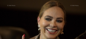 Meeting with Italian actress Ornella Muti: 12th Golden Apricot Film Festival