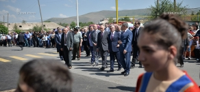 Working visit of Armenian President Serzh Sargsyan to Kotayk and Gegharkunik Provinces