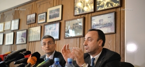 Press conference of the Commission for Constitutional Reforms