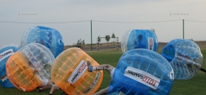 Bubble Football Armenia. Firts exhibition match