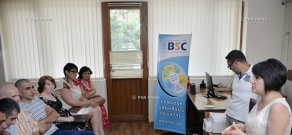 """Business management skills"" trainings for ""Strengthening the Livelihoods and Voice of the Poor and Vulnerable Persons in Armenia"" Project beneficiaries"