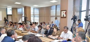 Meeting of the national commission for people with disabilities, headed by RA Minister of Labor and Social Affairs Artem Asatryan