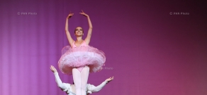 Evening of classical and contemporary ballet entitled 'Spirit of Motion'