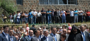 President Serzh Sargsyan's working visit to Tavush Province
