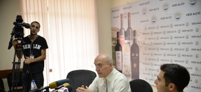 Press conference of Ashot Melikyan, Chairman of the Committee to Protect Freedom of Expression
