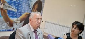 Press conference of Mkrtich Minasyan (RPA)