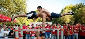 Workout Fest 2015 in Yerevan