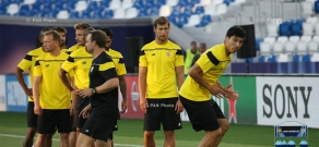 UEFA Super Cup 2015: Open training of  Sevilla FC
