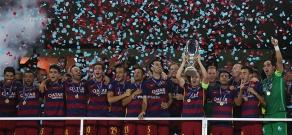 FC Barcelona vs Sevilla - UEFA Super Cup 2015