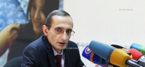 Press conference of NCTR President Grigor Amalyan